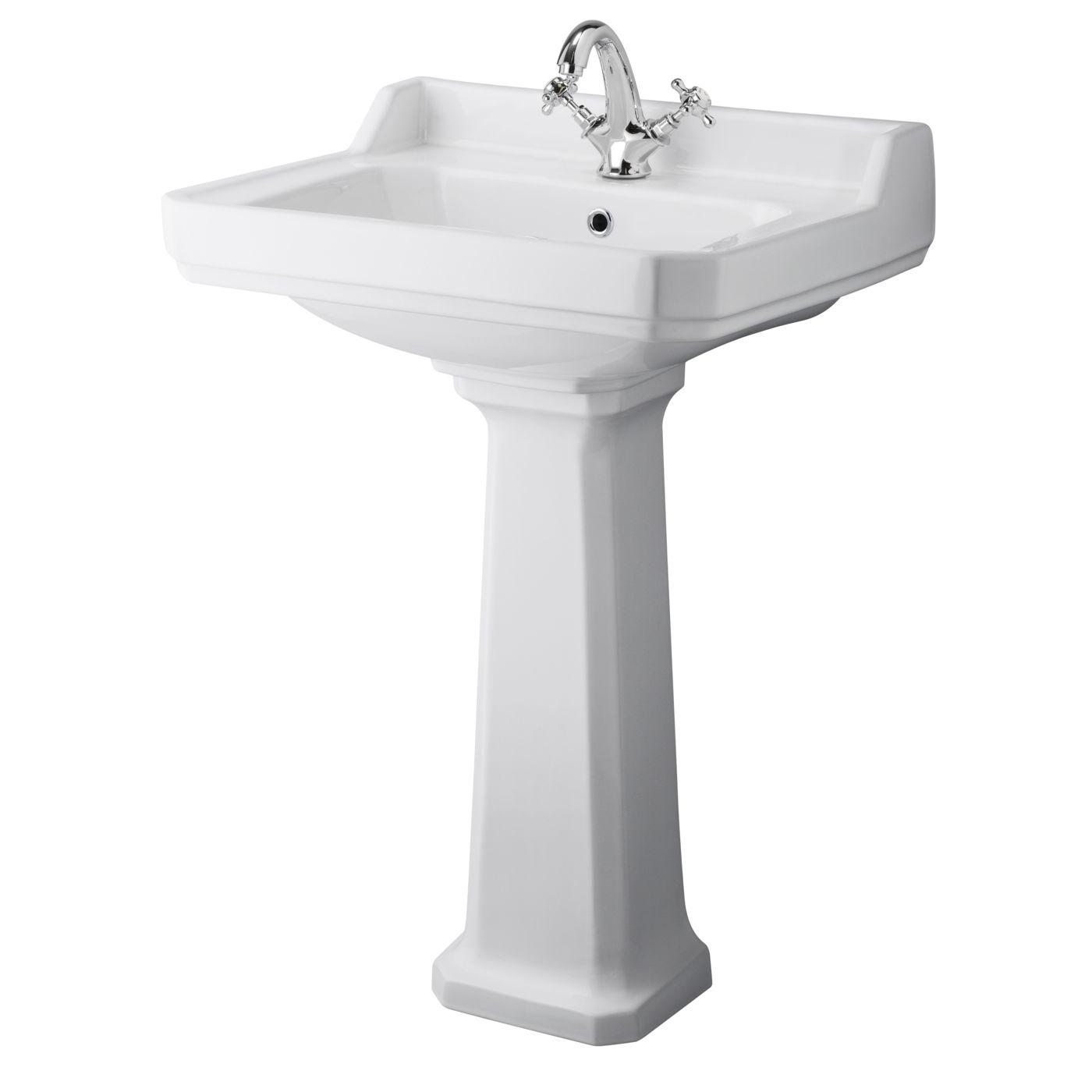 Waschtisch Im Retrostil Traditional Bathrooms Nostalgie