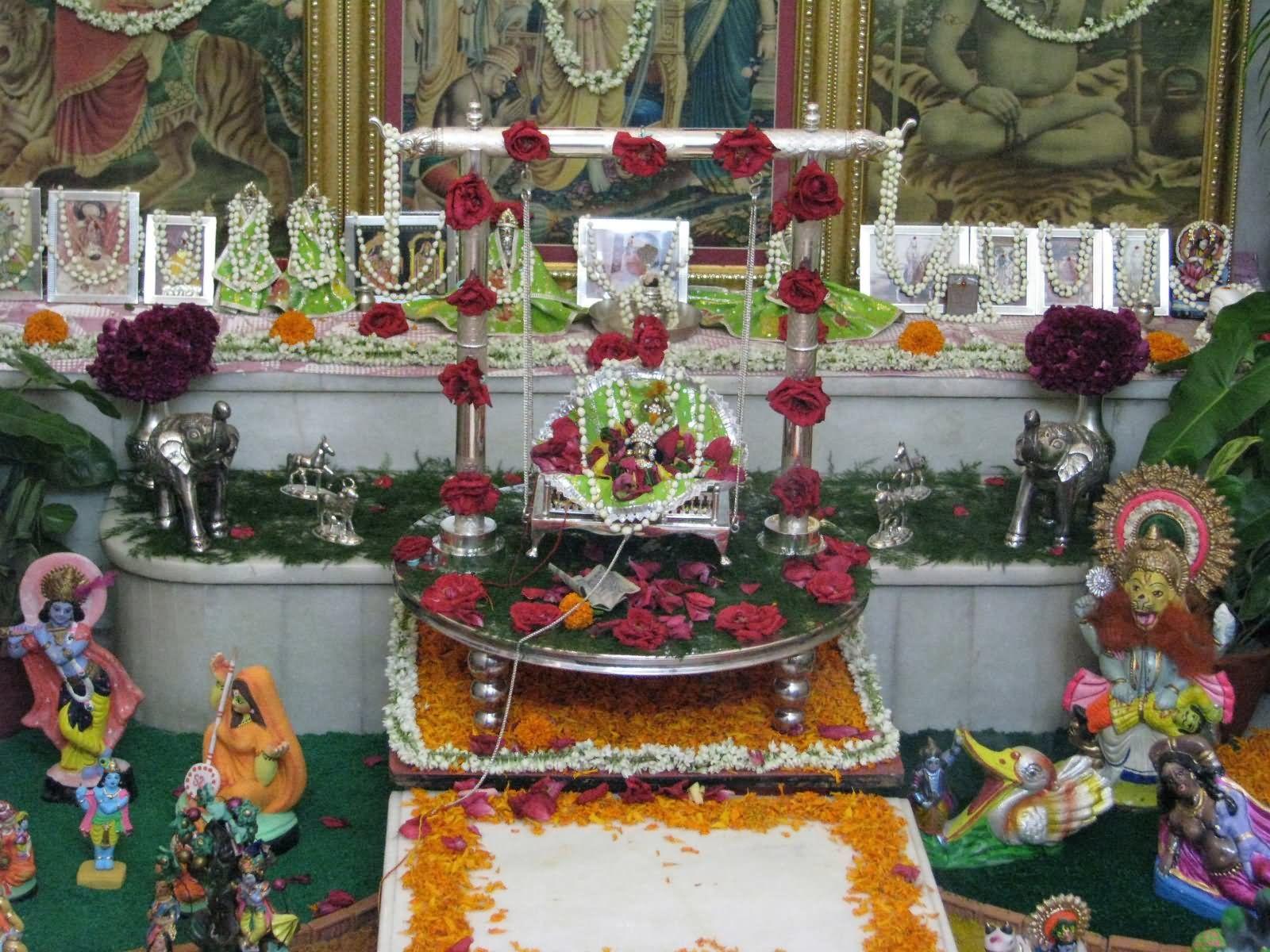Adorable Decoration On Krishna Janmashtami | Janmashtami ...