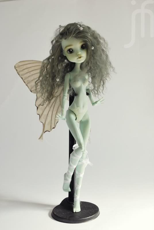 monster high fairy dolls | ... Monster High *Fairy Nymph* Repaint by moniee Frankie Doll | eBay