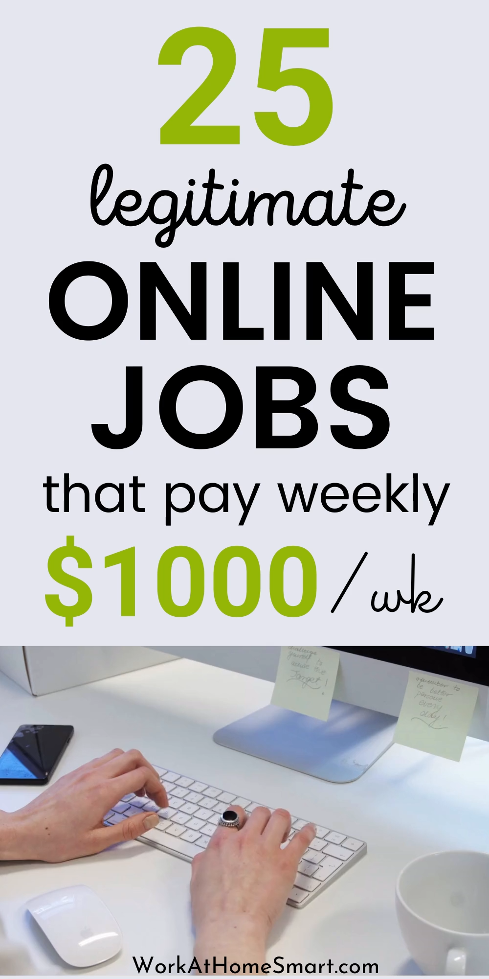 25 Work From Home Jobs That Pay Weekly
