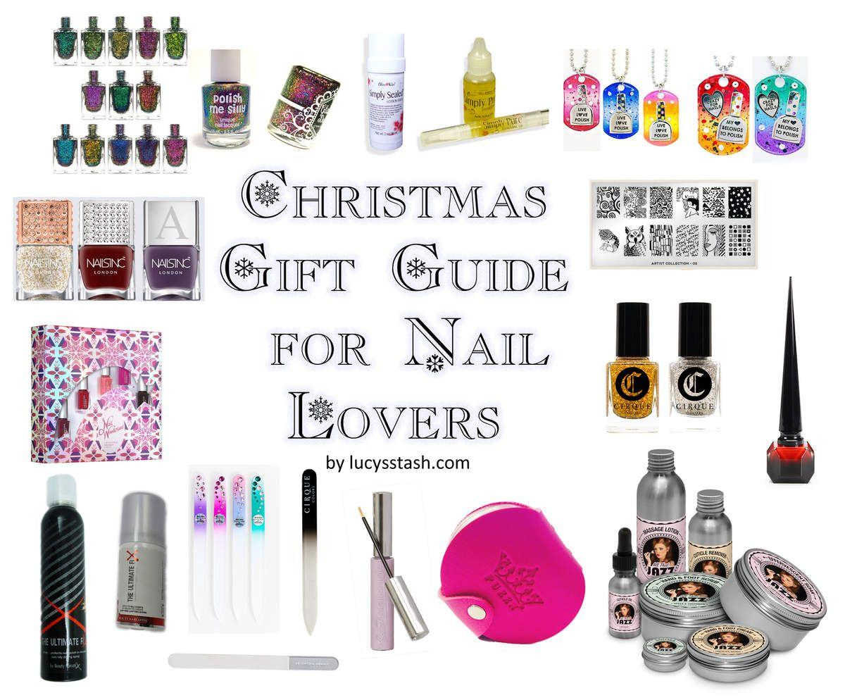 Christmas Gift Guide for Nail Lovers & Addicts Christmas