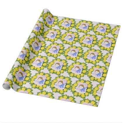 Girl in victorian easter bonnet wrapping paper spring gifts girl in victorian easter bonnet wrapping paper spring gifts beautiful diy spring time new year negle Choice Image