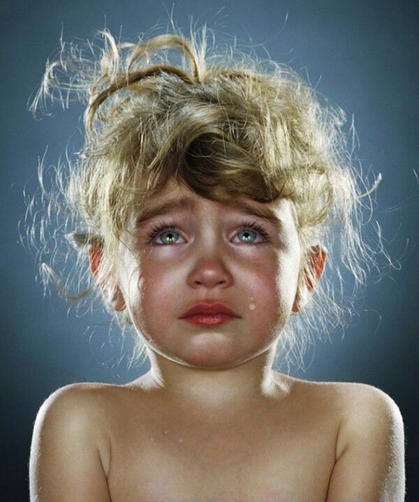 crying Facial abuse