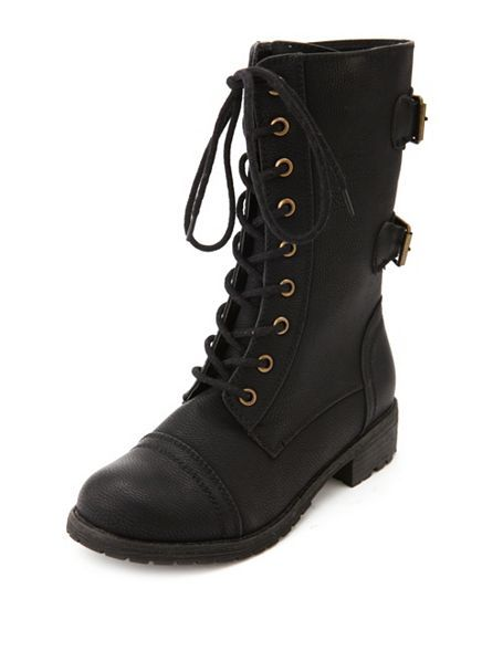 I just ordered these for work they're exactly how they were described they go mid calf high love these