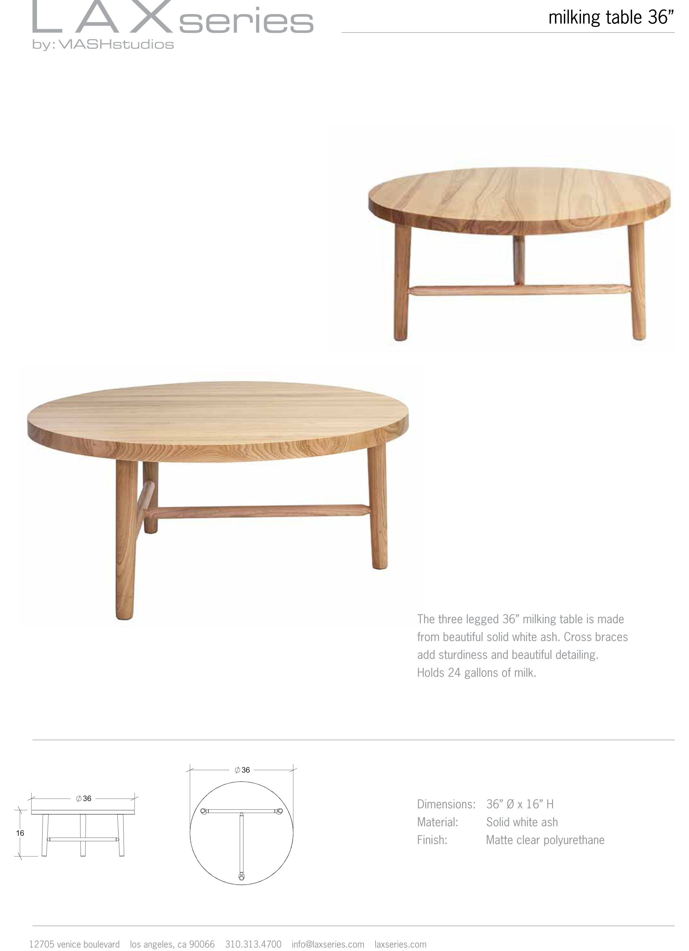 Milking Table Lax Series 36 Dia In 2021 Table Japanese Interior Design Coffee Table [ 3108 x 2253 Pixel ]