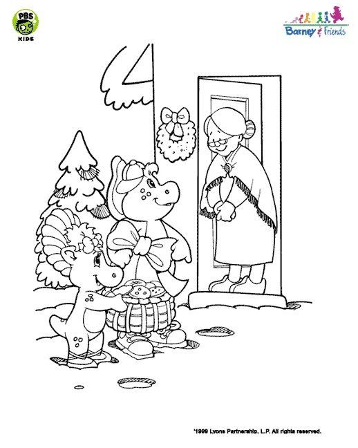 Pin by Ann Lee on Coloring Sheets Barney   Pinterest   Games for ...
