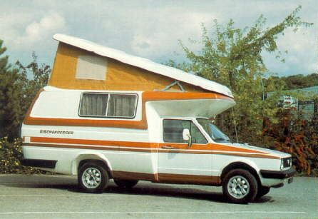 Golf 2 camping car 80's