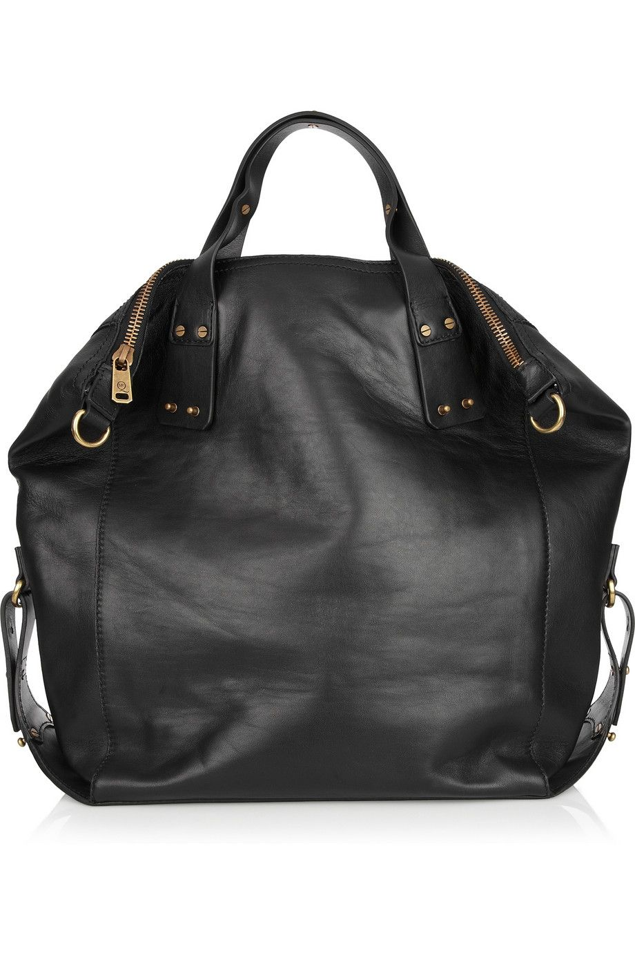 the perfect fall bag...McQ Alexander McQueen Stepney leather tote  NET-A-PORTER.COM