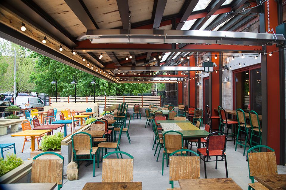 Colectivo Coffee S Chicago Clark St Location In The Lincoln Park Area Serving Breakfast Lunch Espresso Beer And More Large Outdoor Patio