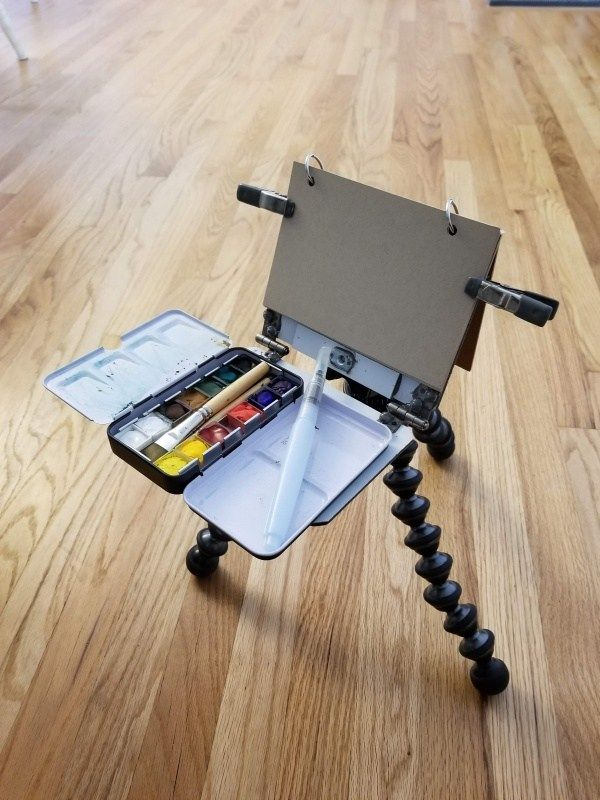 One Pound Painting Project Easel