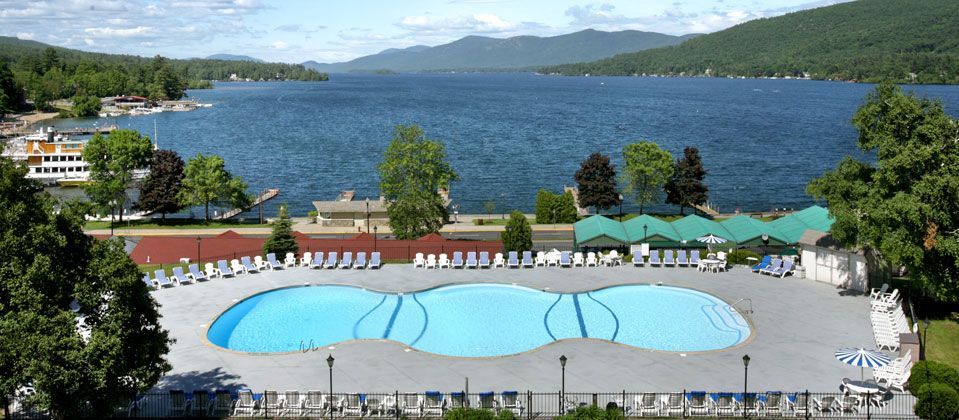 This Was The View From Our Room While Up In New York Great Hotel Quality Inn Lake George