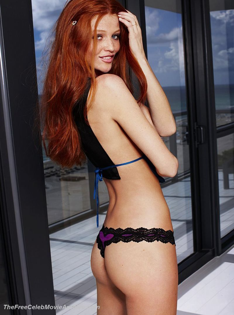Redhead in thongs matchless