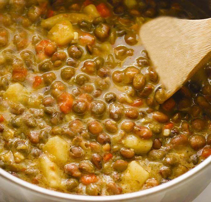 Jamaican Gungo Peas Soup Pigeon Peas Vegan Recipe Soups