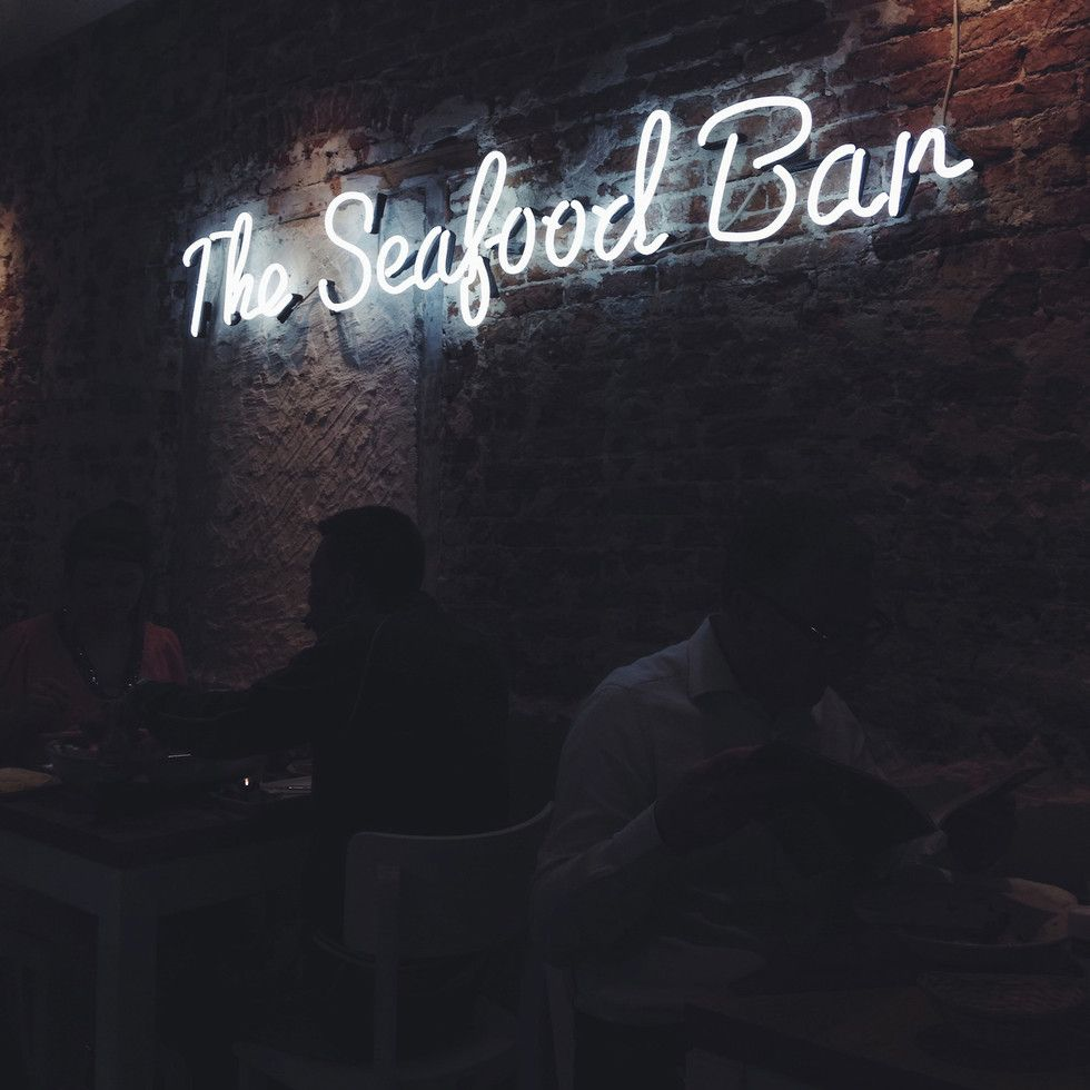 Amsterdam: The Seafood Bar - restaurant // © modernekohome
