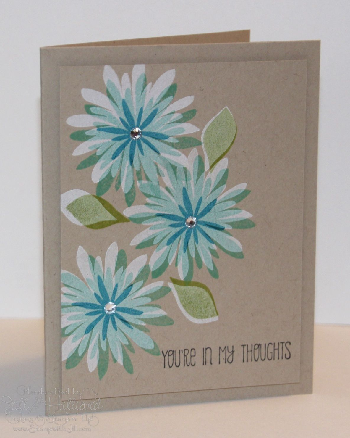 Jill S Card Creations Flower Patch Again Stampin Art Pinterest