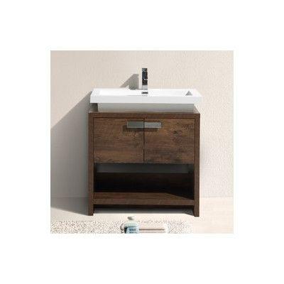 Orren Ellis Haycraft 32 Single Bathroom Vanity Set Single