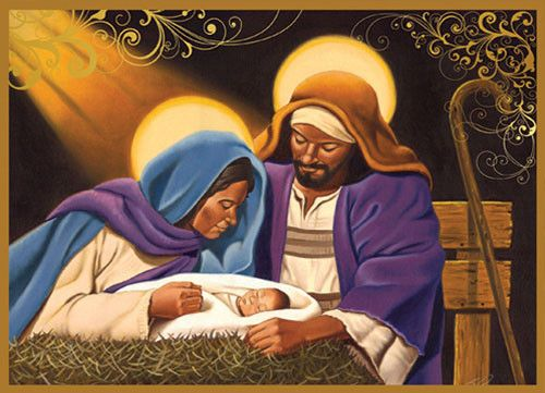 Our Nativity African American Christmas Card Box Set