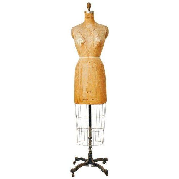 Vintage Bauman Model Dress Form Ladies Mannequin (4.554.000 IDR ...