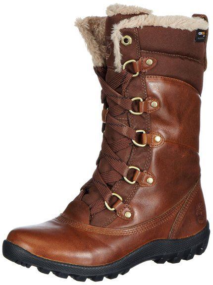 Timberland Women's MT Hope Mid L/F WP Boot,Tobacco,6 ...
