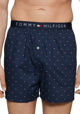 11ea3ac5237a Tommy Hilfiger Men's Woven Boxer - Slr Nvy - L in 2019 | Products ...