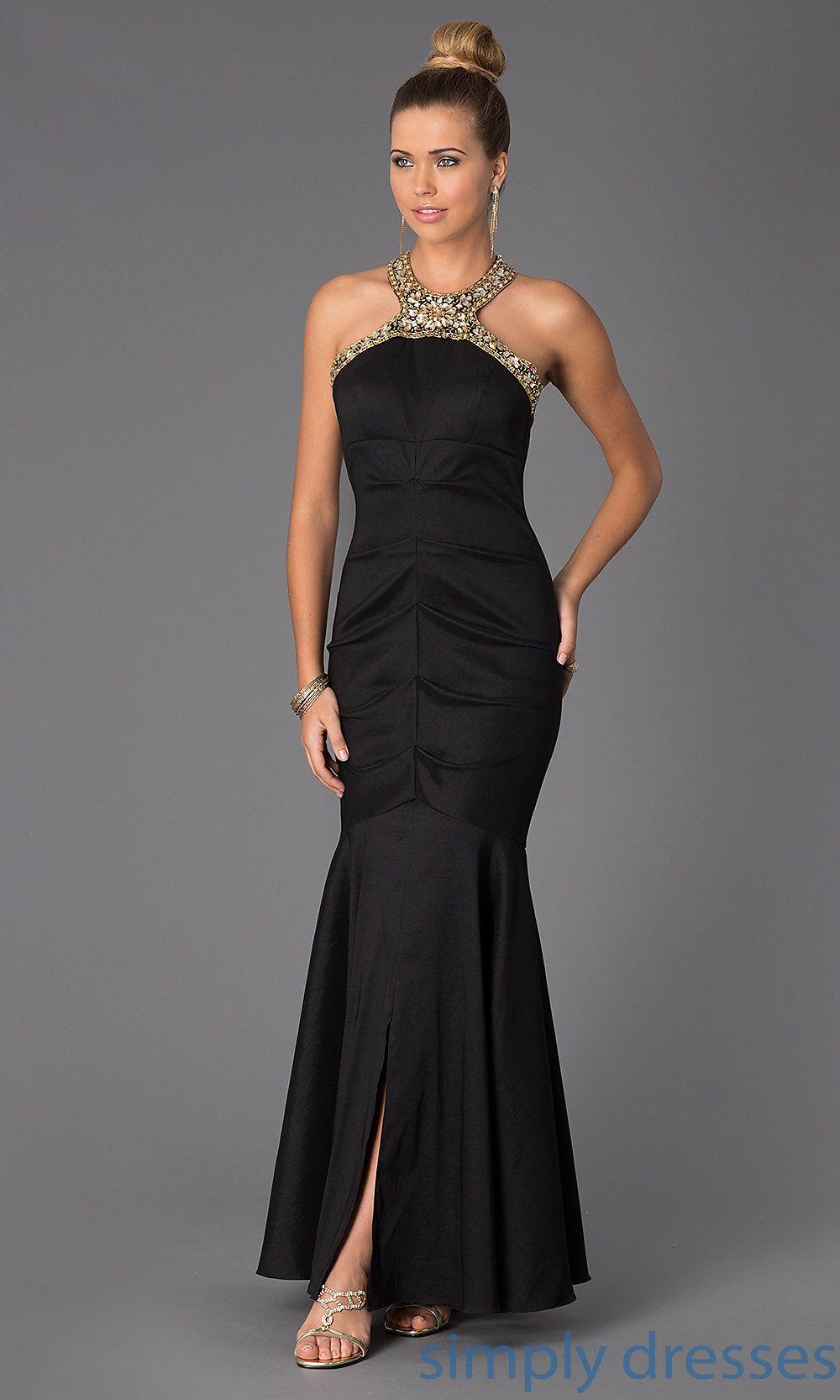 Dress floor length jewel embellished dress simply dresses