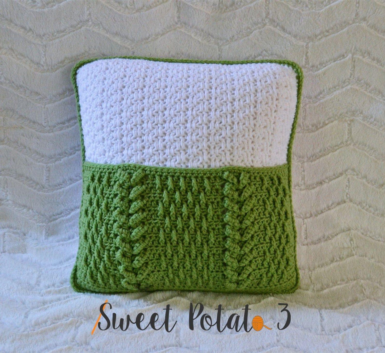 Sleep Tight Pocket Pillow Crochet Pattern   Etsy