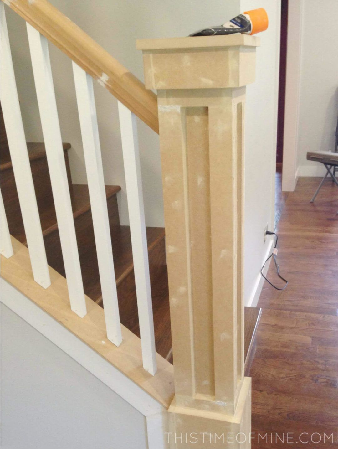 A Diy Oak Banister Makeover Tutorial And Tips In 2020 With