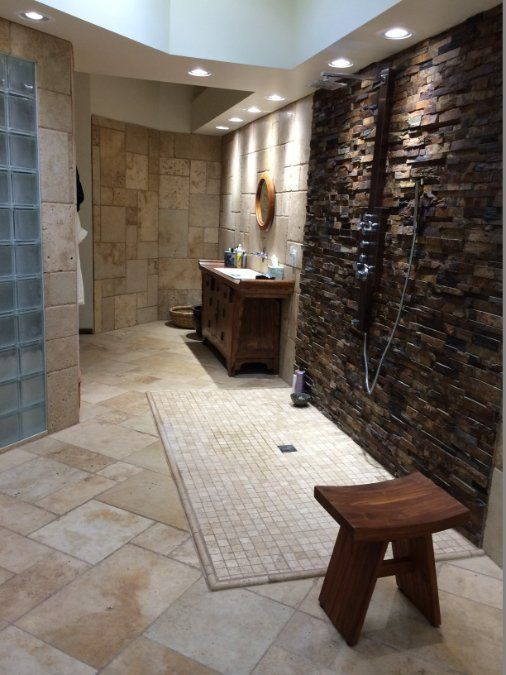 These Homeowners Created An Incredible Bathroom Using 3 5