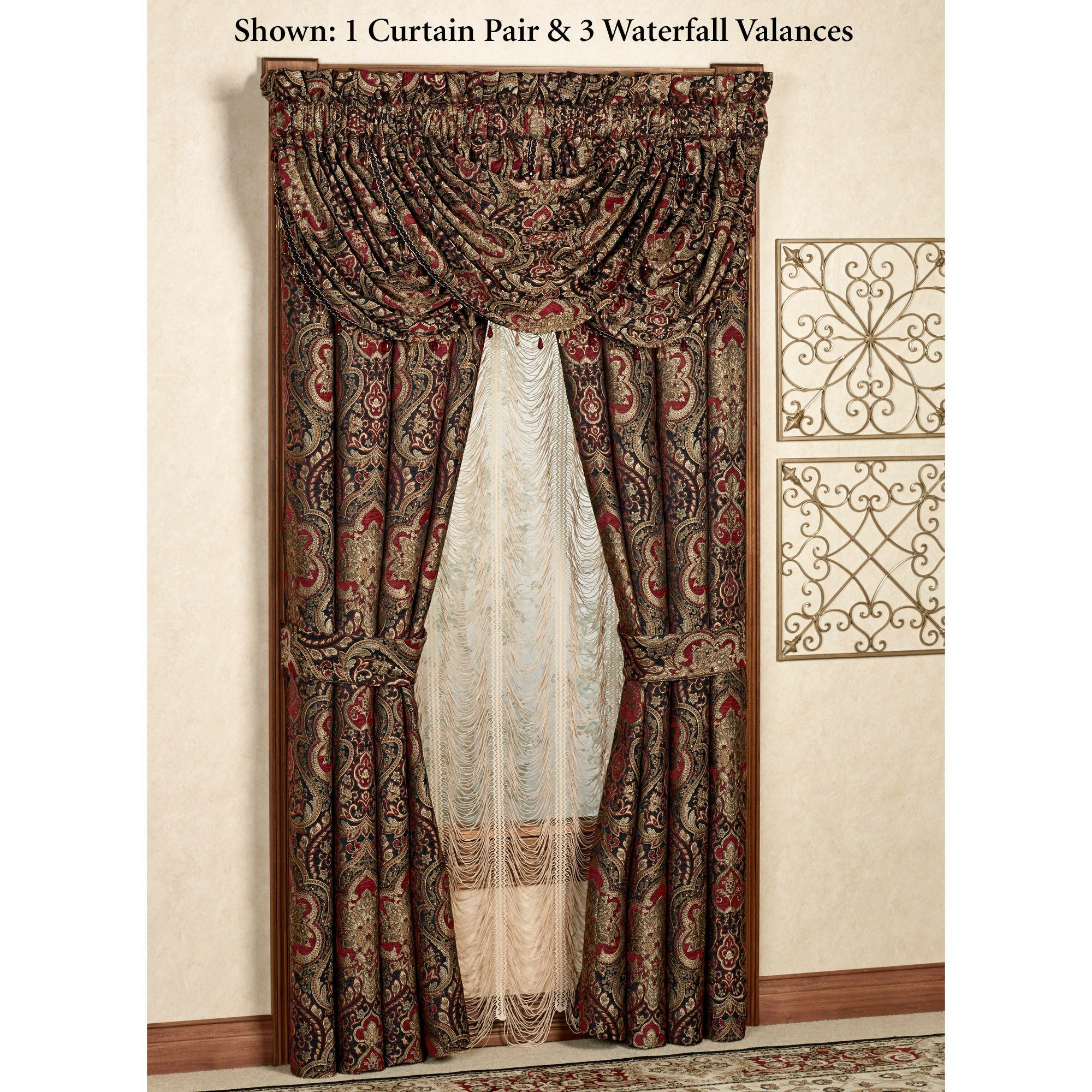 window scroll curtain tailored queen by sand p x curtains astoria treatment new expand pair to click j york