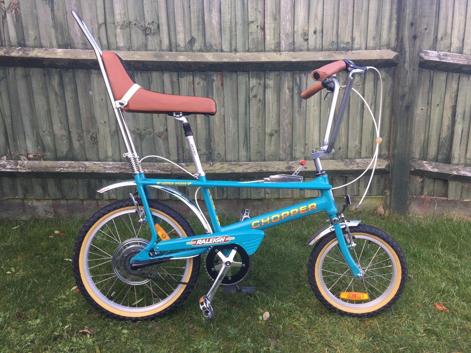 Raleigh Chopper Custom Turquoise Ebay Bicicletas