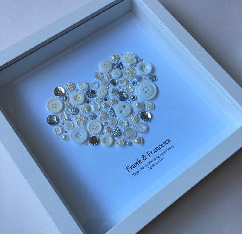 25th anniversary gift silver wedding anniversary gift