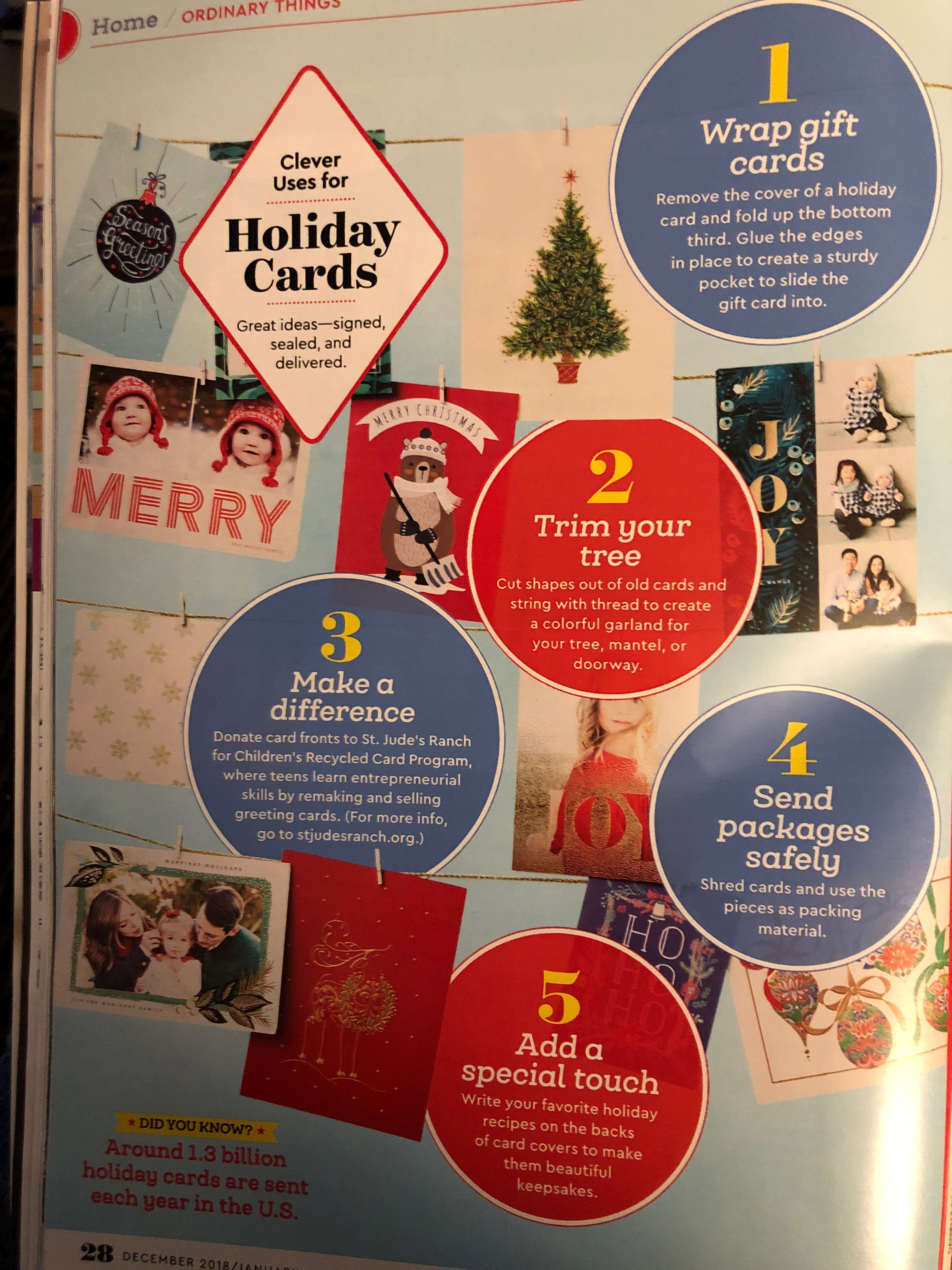 From Woman's Day magazine   The night before christmas, Holiday cards, Twas the night