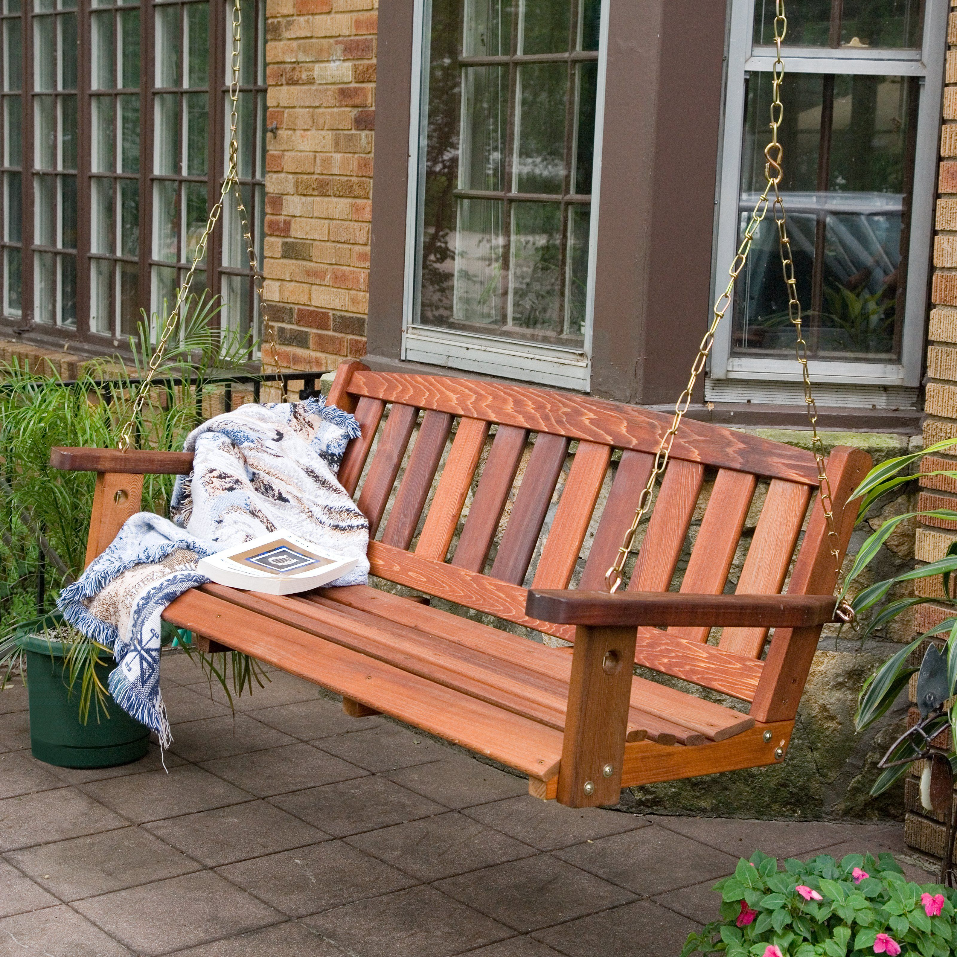 Great American Woodies Red Cedar Mission Porch