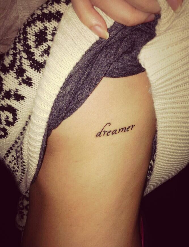 40 Charming One Word Tattoo Examples Small Quote Tattoos One