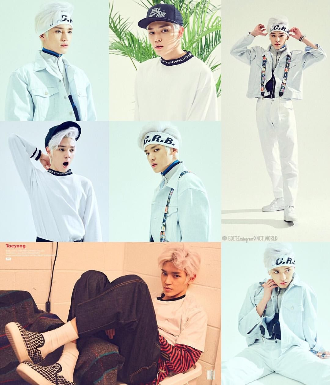 OFFICIAL] NCT U's Taeyong Debut Teaser Image