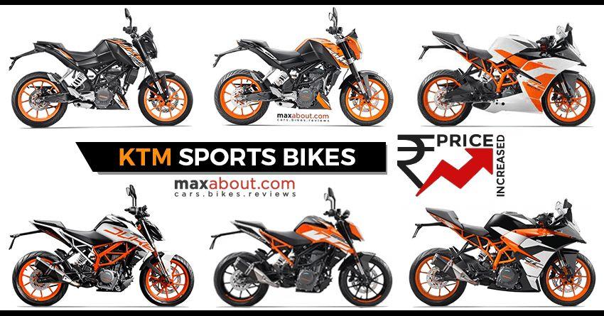 Price Hike Alert Ktm Duke Rc Series Price Increased In India