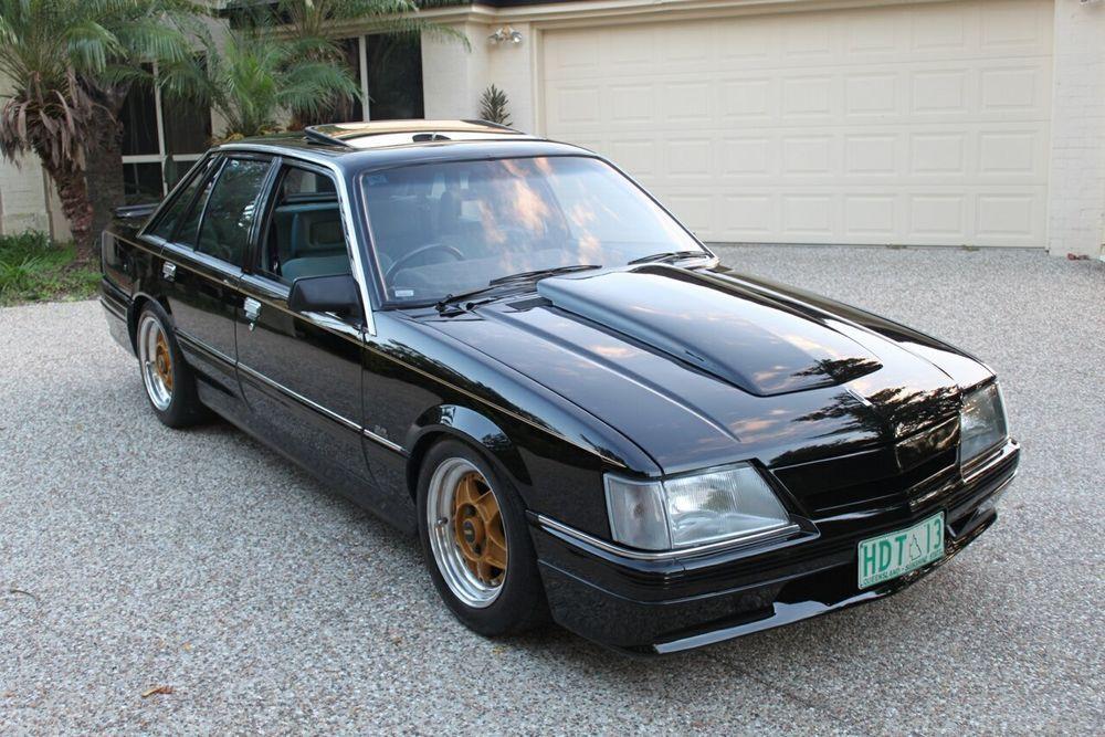 1985 Holden HDT Calais DIRECTOR BROCK Tuxedo Black