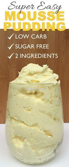 Low Carb Sugar Free Dessert Pudding Sugar Free Jello