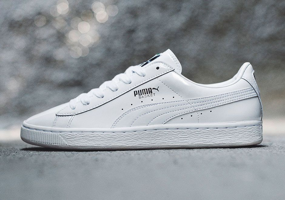 18132b05 PUMA Patent Pack | sneakers | White puma shoes, White puma sneakers ...