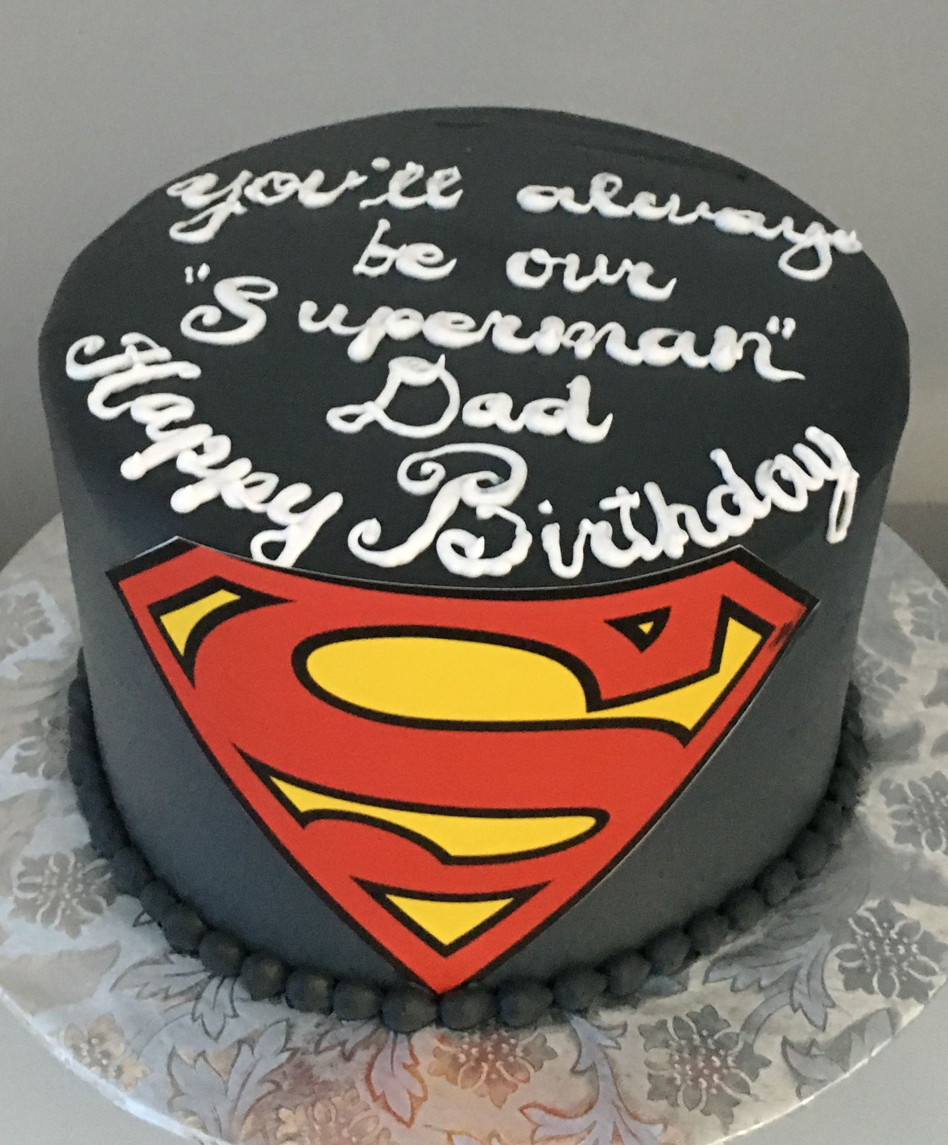 Super Dad With Images Dad Birthday Cakes Birthday Cakes For