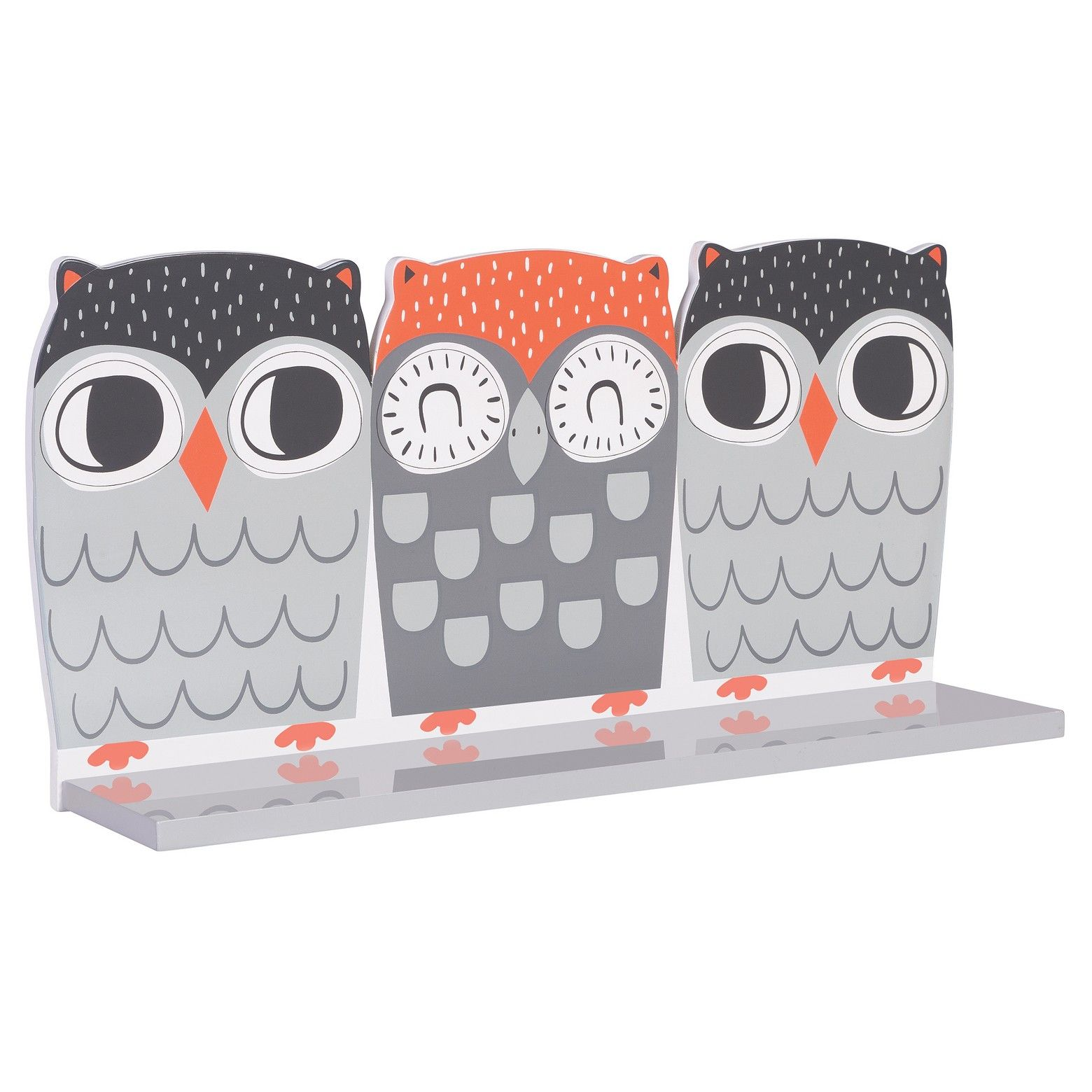 Trend Lab S Owl Shelf Wall Shelf Decor Wall Shelves
