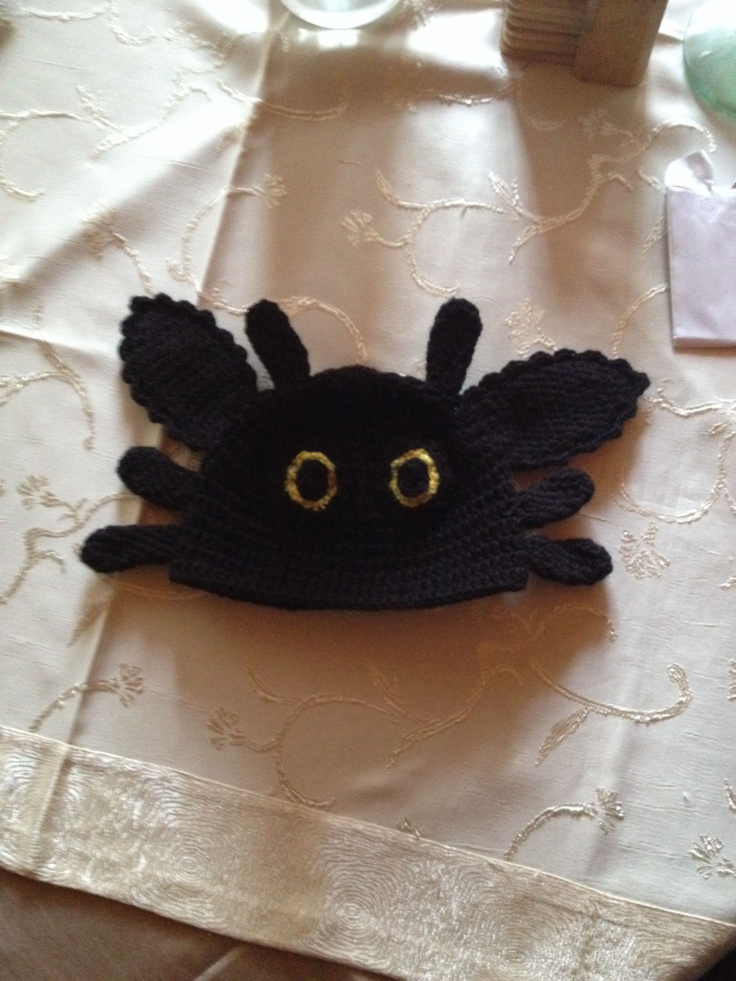 Toothless beanie | Crochet hats, Beanie, Hats