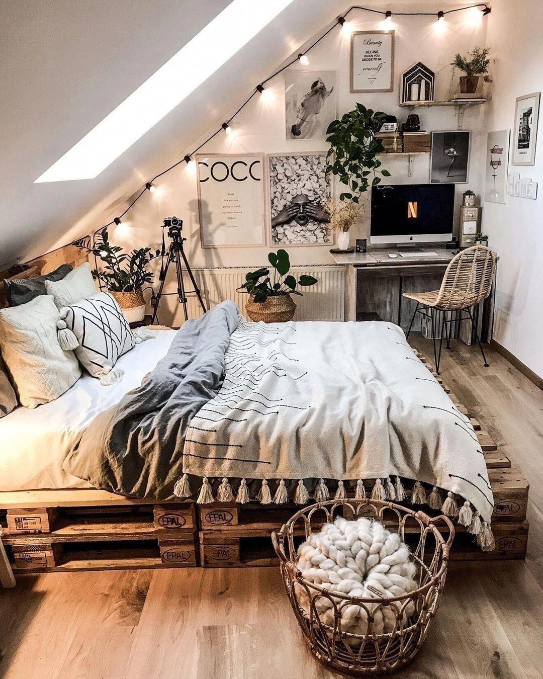 Ideen im böhmischen Stil für die Dekoration des Schlafzimmers bohemianbedroom #bohemianbedrooms