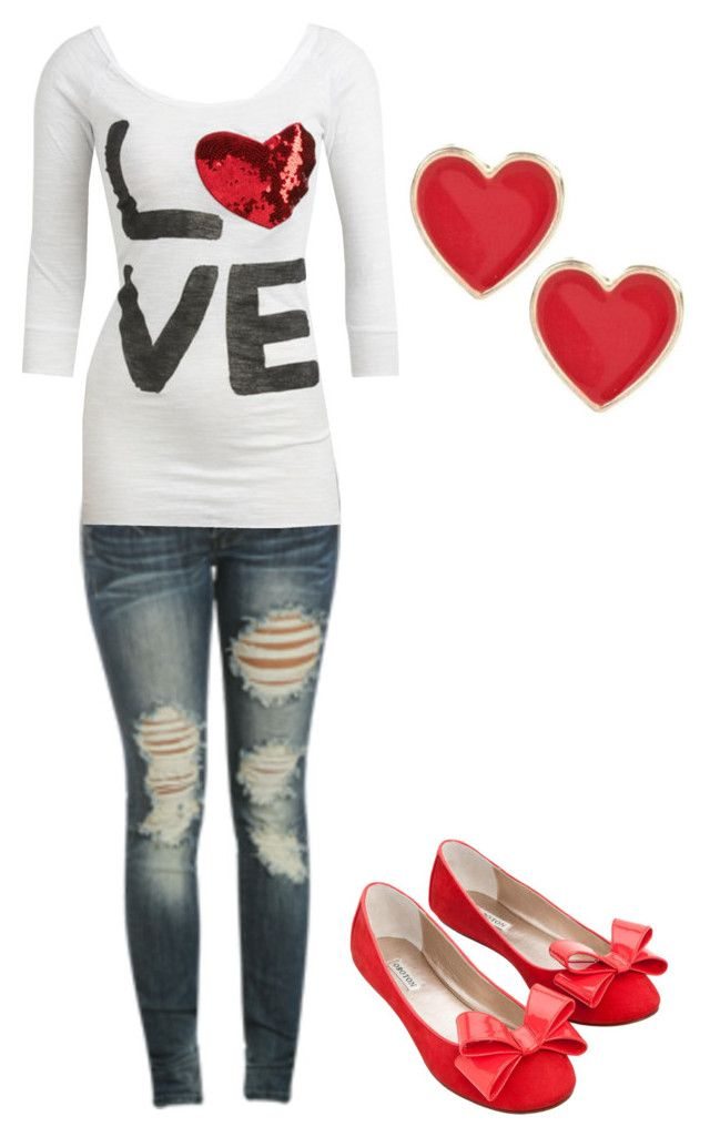 """""""love"""" by karlibugg ❤ liked on Polyvore featuring Wet Seal, River Island and Oroton"""