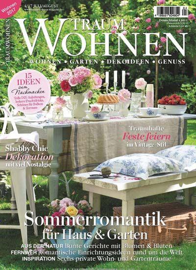 Sommerromantik für Haus & Garten Jetzt in Traumwohnen. | Garten ...