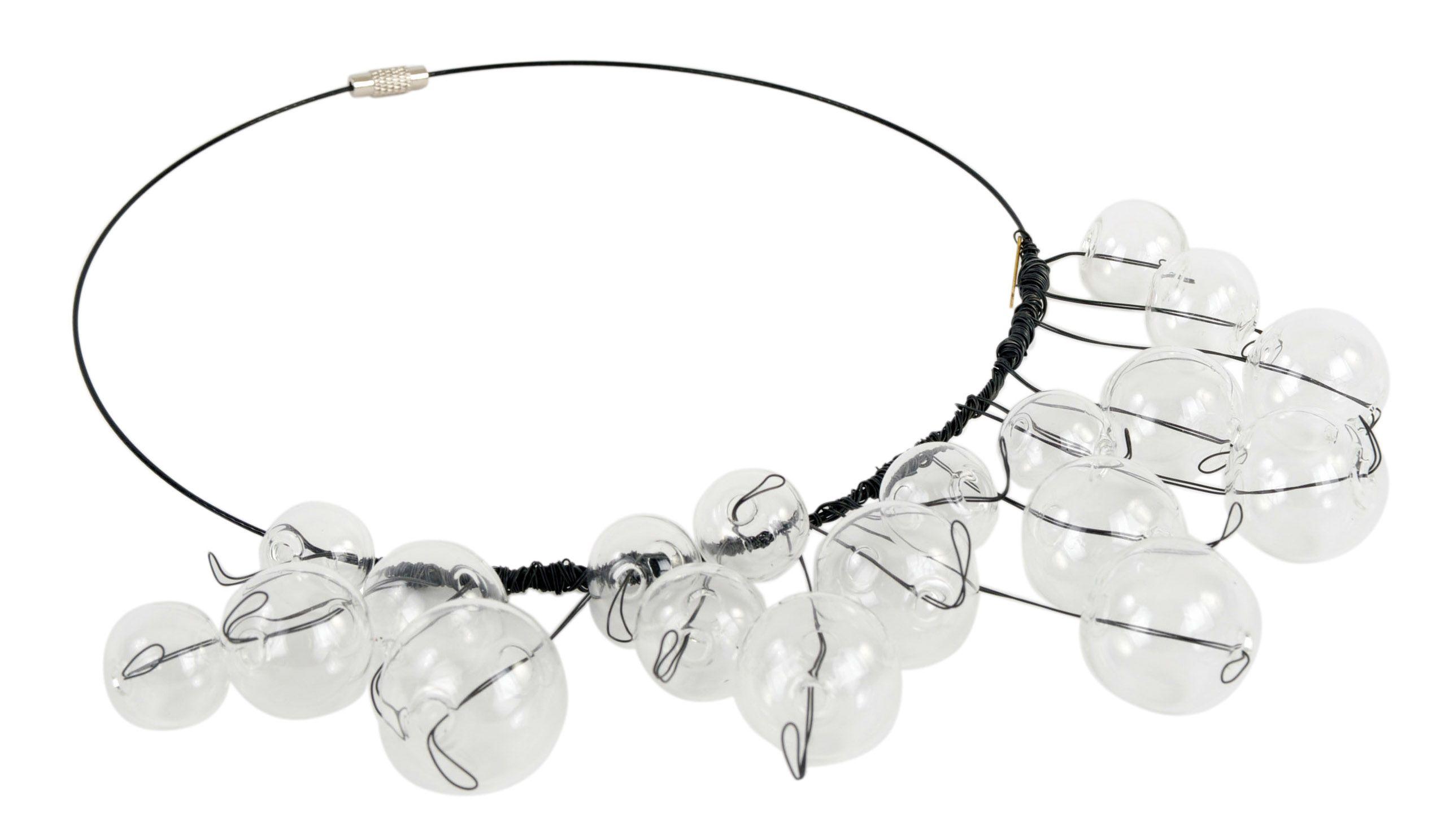 La Celeste glass necklace from Contessa Rosafosca