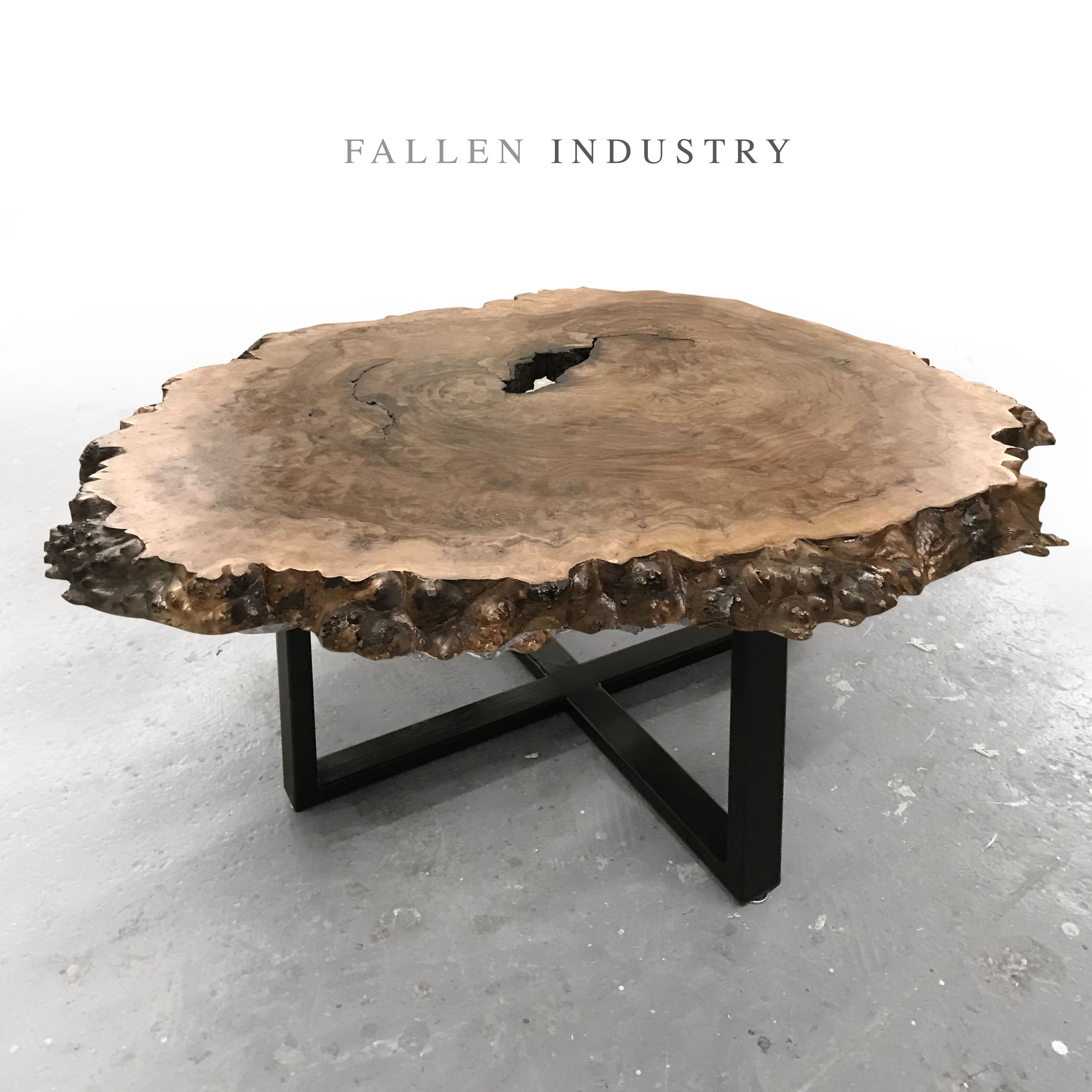 crosscut round coffee table coffee table wood wood table wood table design