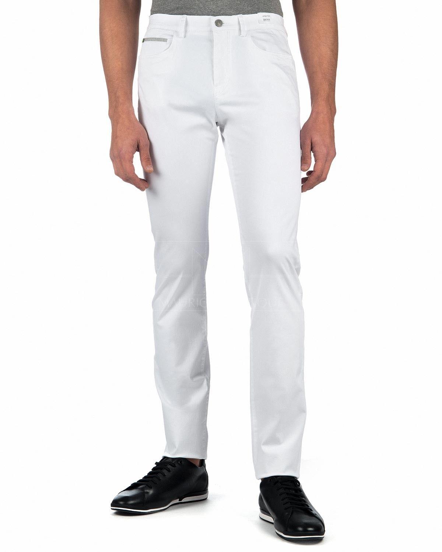 41f0a92895 Pantalones Blancos Hugo Boss - Lester