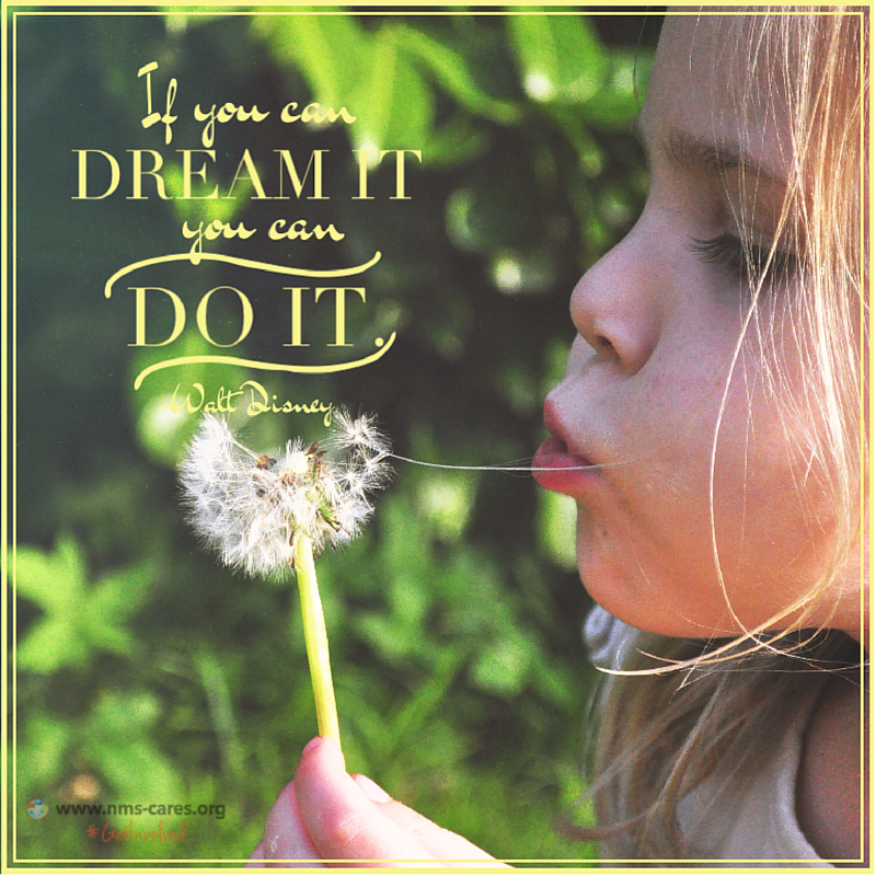 """In the words of renowned animator, Walt Disney, """"If you can Dream it, YOU CAN DO IT."""" :)"""