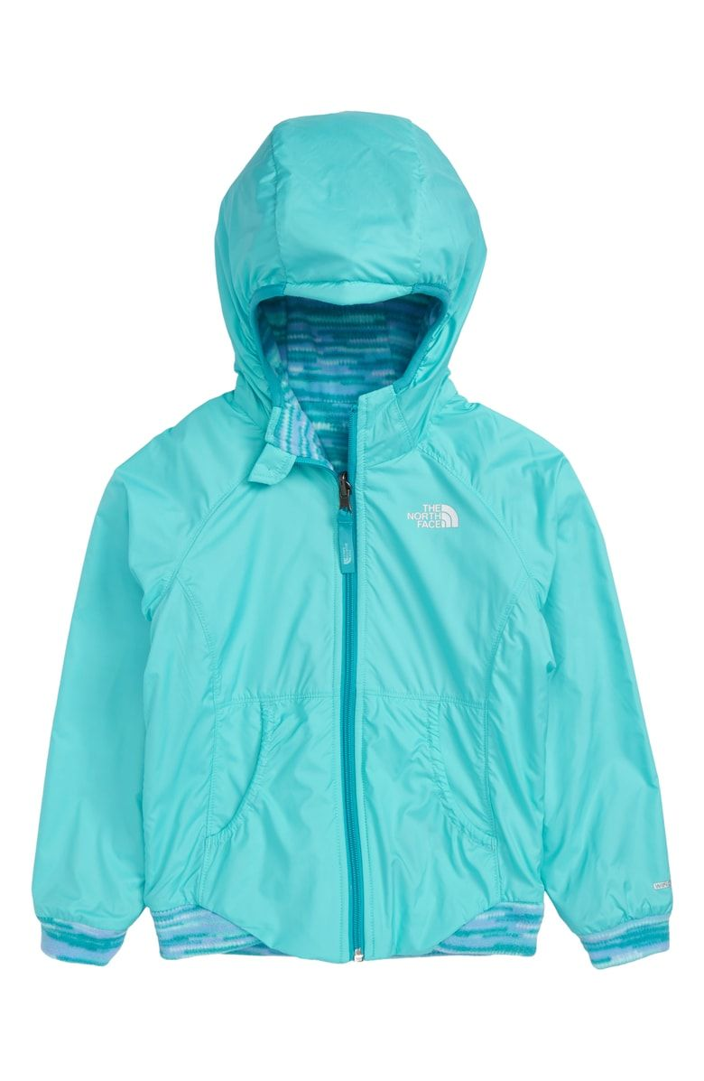 8accc81ff Free shipping and returns on The North Face Breezeway Reversible Wind Jacket  (Toddler Girls & Little Girls) at Nordstrom.com. Perfect for springtime  hiking, ...